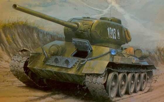 рисунок, средний, танк, польский, картинка, имеет, горизонтали, вертикали,
