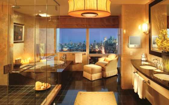 спальни, комната, interer, спальня, золотой, мира, dizain, лучших, top, stil, кровать,