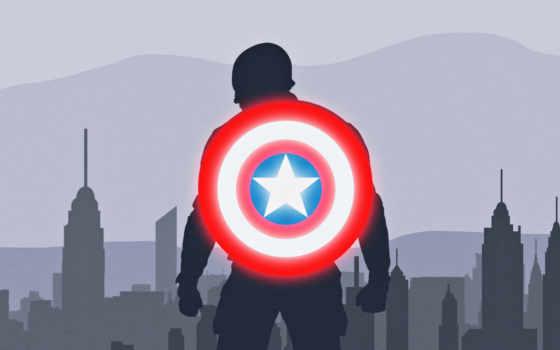 captain, щит, america