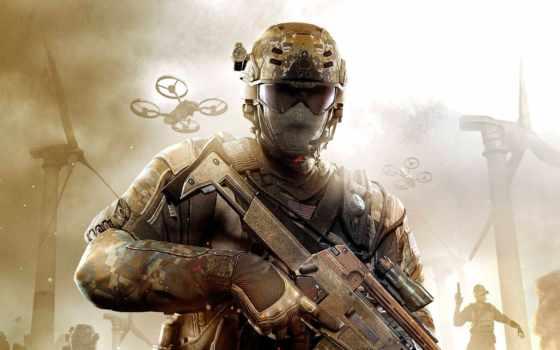 duty, колл, ops, black, солдат, военный,