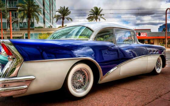 car, ретро, buick, коллекция, улица