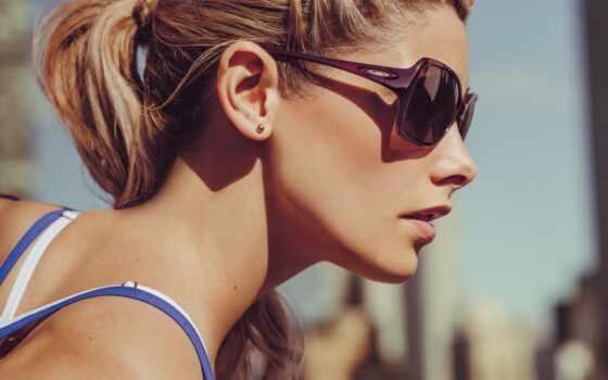 sunglasses, oakley, женщина, obsess, glass, ashley, модель, актриса, банить, ray, зелёный