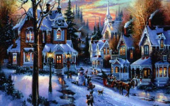 новым, годом,, dreamies, новогодние, большие, deine, duvar,