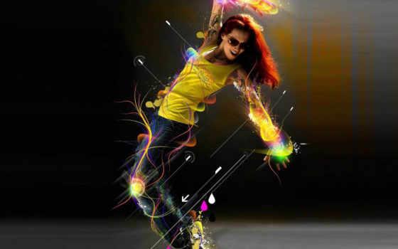 танцы, движения