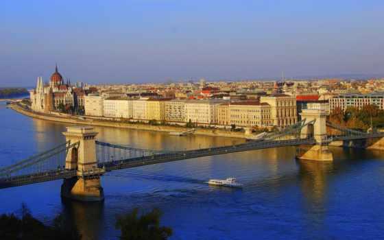 budapest, цепь, мост