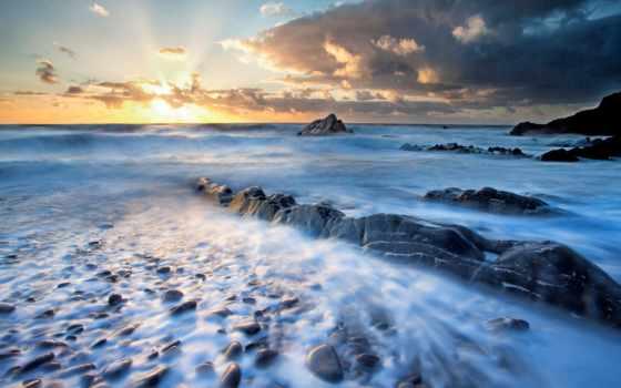 природа, landscape, море