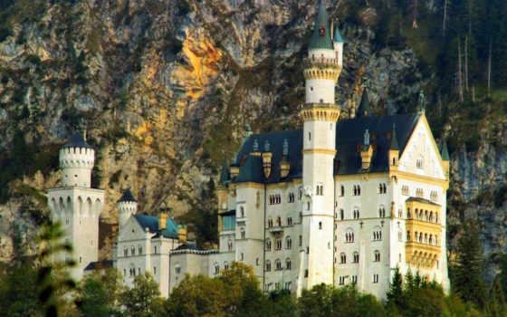 нойшванштайн, németország, castle