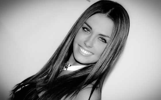 улыбка, devushka, красивая,