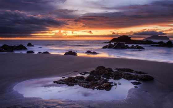 maastik, baltimore, maryland, päikeseloojang, taevas, taustapildid, photos,