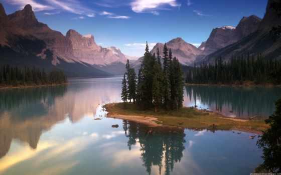 озеро, wallpaper