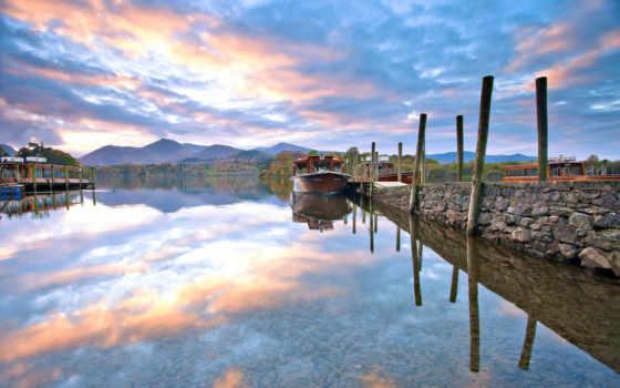 harbor, природа, boats