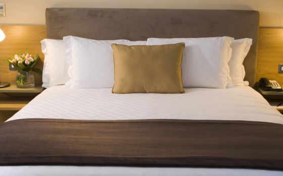 кровать, интерьер, design