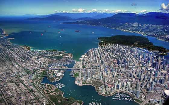 vancouver, канада, город Фон № 142274 разрешение 5600x3500