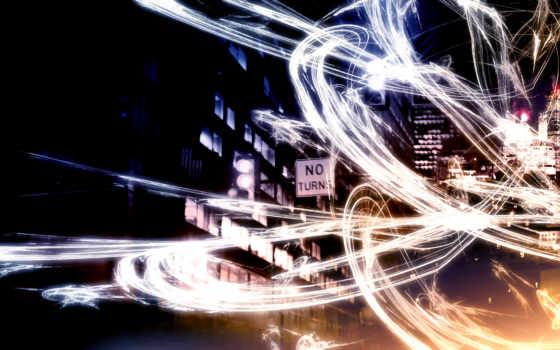город, вектор, ночь