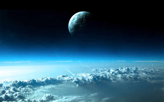 облака, планета