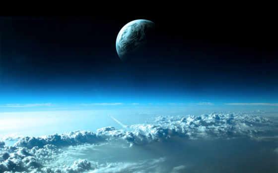 облака, desktop, ipad, best, pictures, fondos, space, части, планета, атмосфера, planets, planeta, pantalla, las, clouds, parte, retina, superior, scene, nubes, верхней, azules,