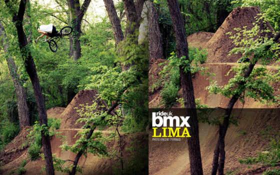 bmx, dirt, lima