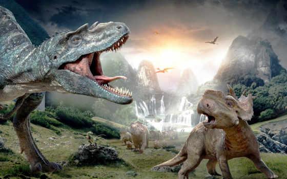 динозавры, динозавров