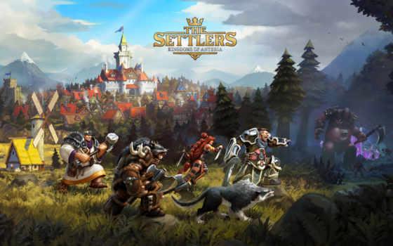 settlers, anteria, kingdoms
