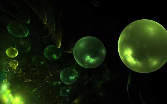 шары, абстракция