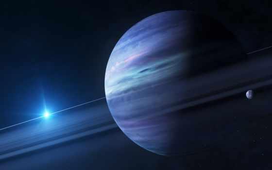 planeta, kosmos, art