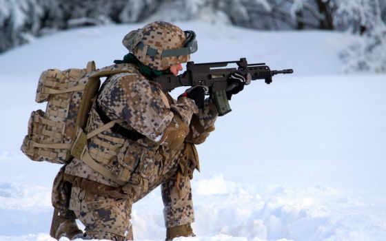 армия, оружие, латвийский, солдат,