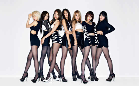 aoa, angels, ace, miniskirt, группа, fantasy, red, fnc,
