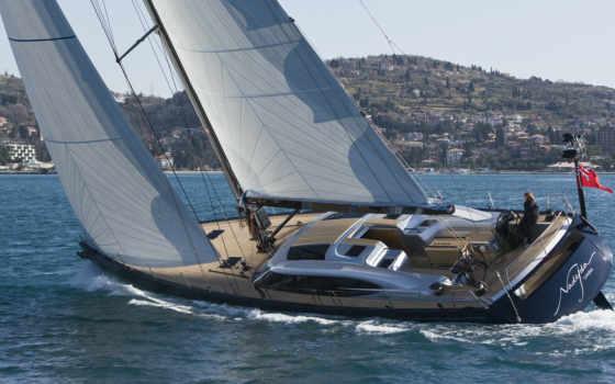 яхта Фон № 27452 разрешение 1920x1080