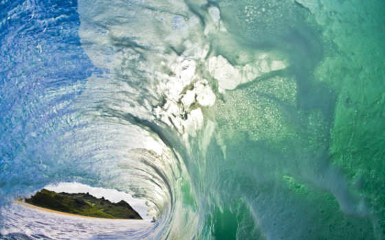 волна, море, пенка, брызги, природа,