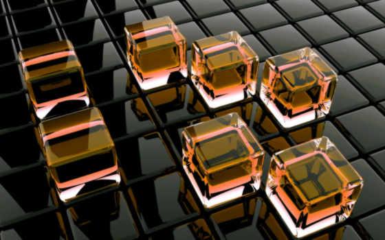 Стеклянные кубы