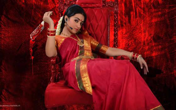 trisha, nayagi, movie, nayaki, tamil, teaser, krishnan, сниматься, directed,