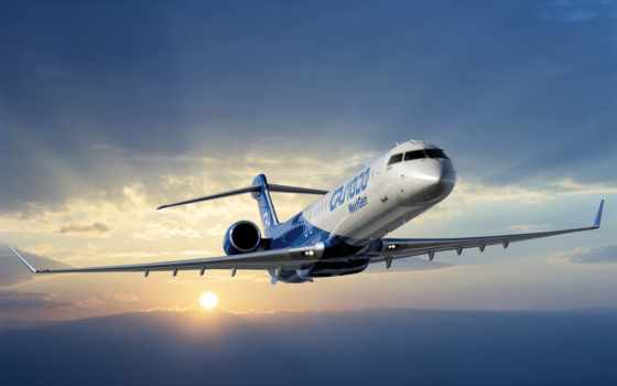 самолёт, небо, авиация