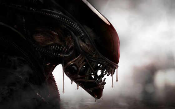 alien, река, боль