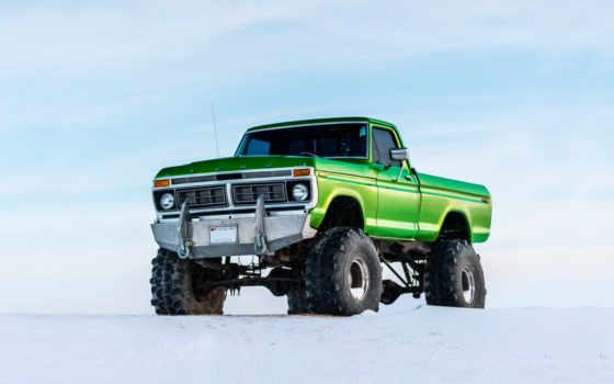 авто, взгляд, truck, trucks, снег, neonbrand, пикап, der, внедорожник,