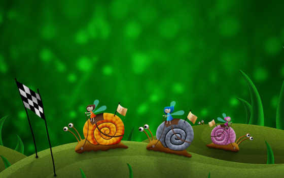 snail, racing