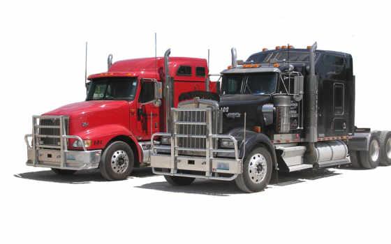 truck, трактор, международный