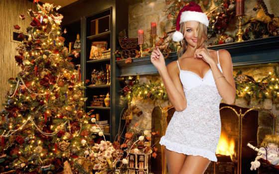 девушка, new, год, новогодние, праздник, devushki, елка,