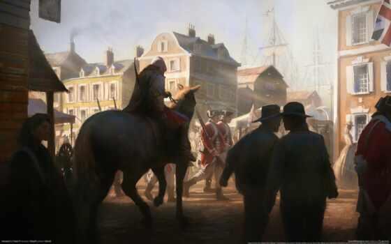 assassin, creed, ас, art, brotherhood, gallery, город