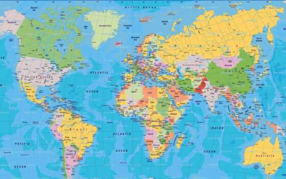 map, world, country
