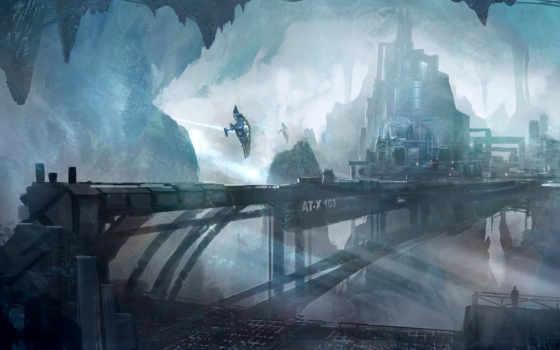 concept, город, underground