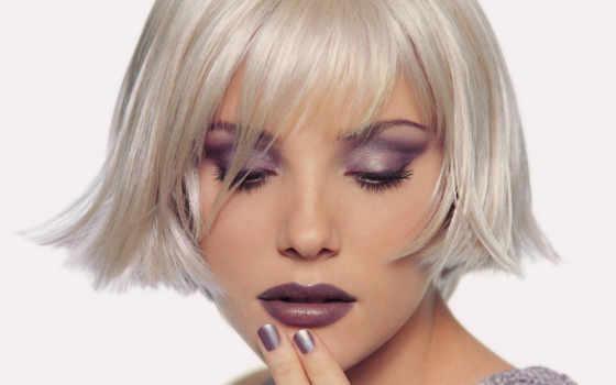 blonde, девушка, глазами, макияж, блондинок, волосы, карими, аватар, свет, пепельная, devushki,