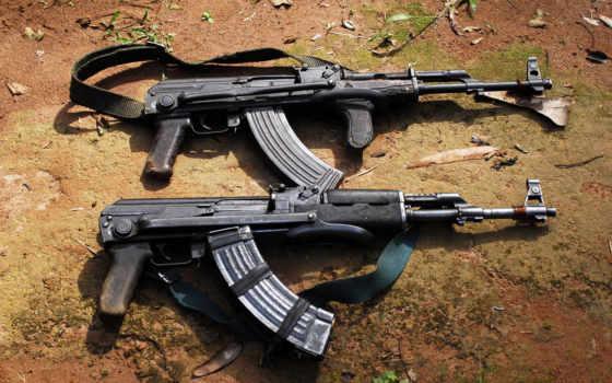 ак, винтовка, del, armas, калашников, shots, los, que, guns,