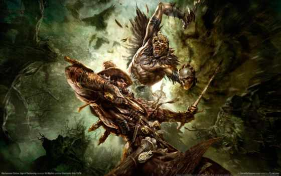 warhammer, online, игры, fb, games, hunter, witch, time, age, reckoning,