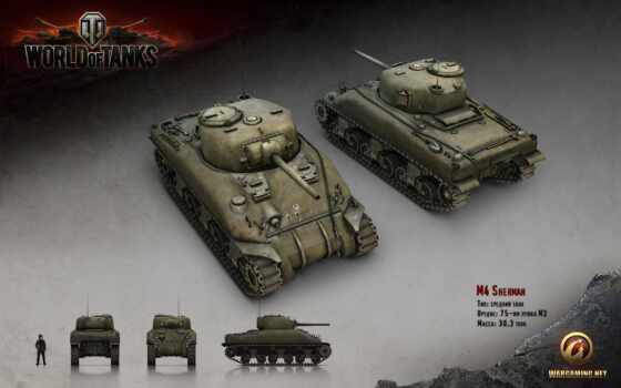 tanks, world, m4, sherman