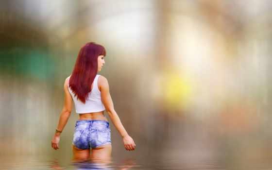 девушка, devushki, модели, рыжие, женщина, трусы, рыжая,