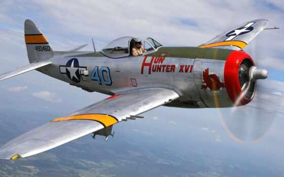 thunderbolt, республика, plane, истребитель, historical, club, loading, военный