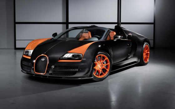 veyron, bugatti, спорт, grand, vitesse, кчр,