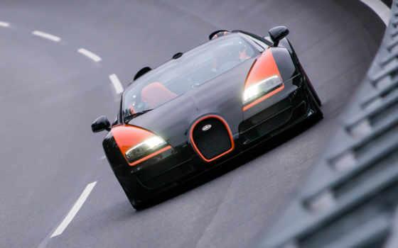 bugatti, veyron, спорт, grand, vitesse, roadster, издание, world,