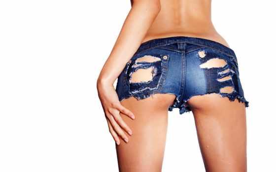 трусы, рваные, джинсовые, джинсы, девушка, devushki, booty, попка, дырки,