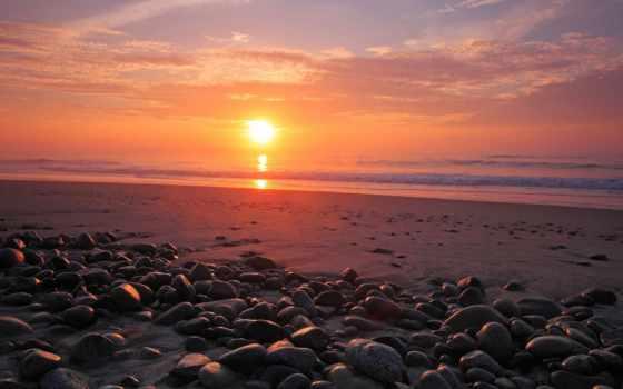 закат, море, берег, природа, камни, daler, солнца, sun, красивые, камень, пляжи,
